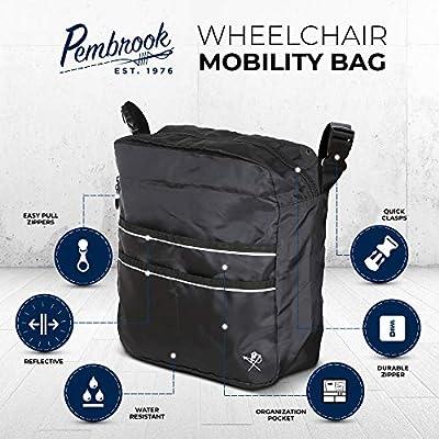 Amazon.com: Pembrook silla de ruedas Movilidad Bag – Gran ...