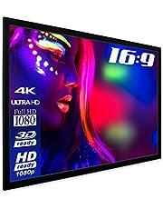 "ESMART Economy EXF Frame Scherm 200 x 113 cm (90"")   Formaat 16:9   Full Masking   Home Cinema Beamer Projectiescherm Frame Scherm LCD LED"
