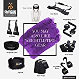 DMoose Fitness Neck Head Harness for Resistance Training. Extra-Heavy D-Rings and Steel Chain, Comfort Fit Neoprene, Superior Saddle Stitching. Build A Thicker Neck with Durable Exercise Neck Strap