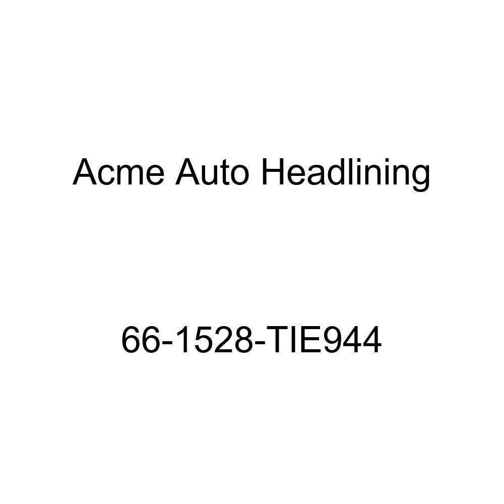 Pontiac Tempest 4 Door Wagon 8 Bow Acme Auto Headlining 66-1528-TIE944 White Replacement Headliner
