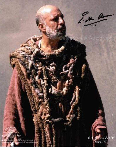 ERICK AVARI as Kasuf - Stargate SG-1 Genuine Autograph from Celebrity Ink