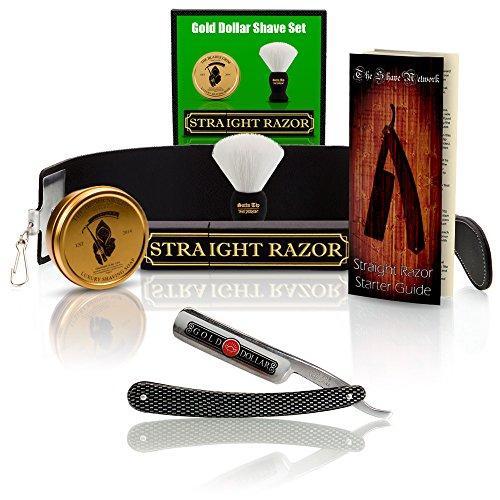 ~Shave Ready~ Shaving Straight Razor 6/8' GD w/Box 208 Gold Dollar...