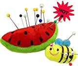 #9: PeavyTailor Pin Cushion For sewing machine 2pcs Pin Holder-DIY Craft Watermelon