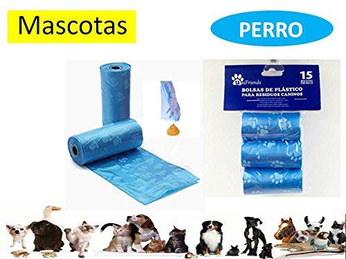 Unifriends Bolsas para excrementos de Perro 45 Rollos Total ...