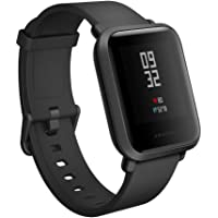 Amazfit Bip Smartwatch by Huami with All-Day Heart Rate and Activity Tracking, Sleep Monitoring, GPS, Ultra-Long Battery Life, Bluetooth, 4 Sports Modes Smart Watch Compatible Android iOS