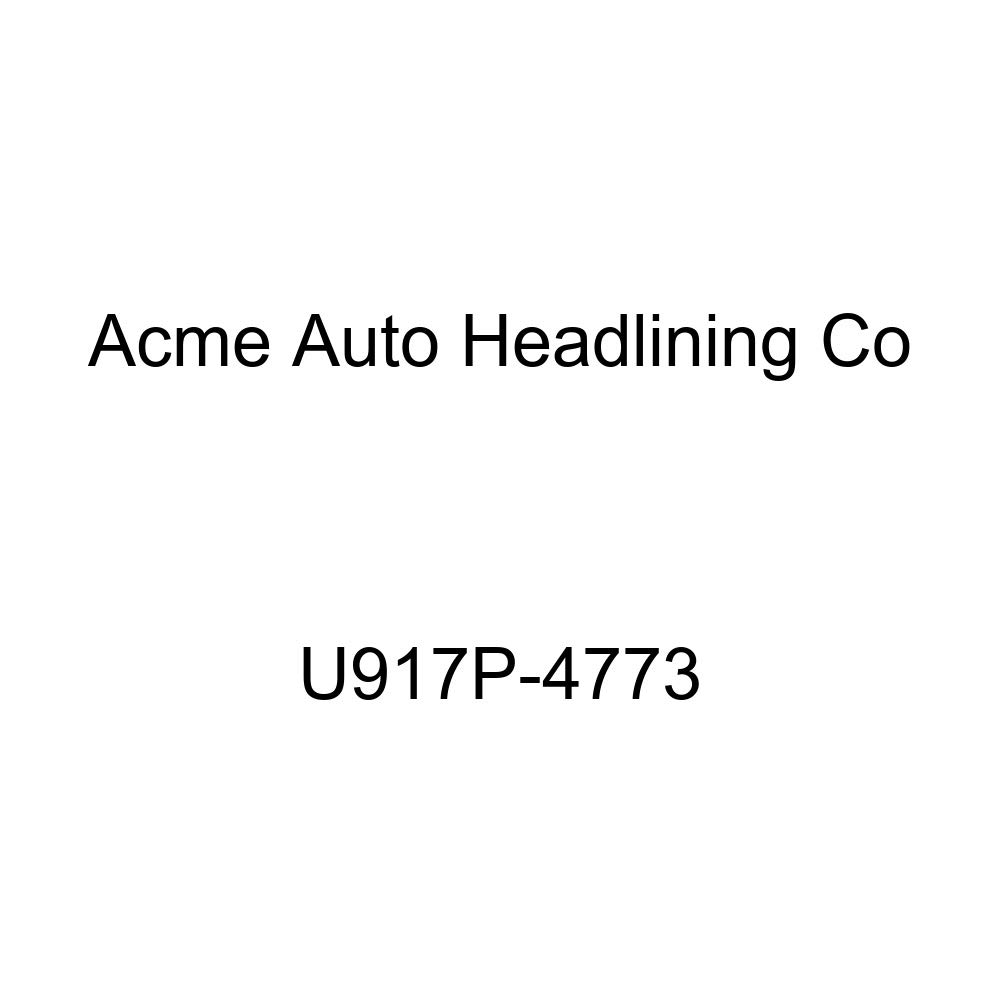 Acme U917P-4773 Front and Rear Saddle Vinyl Bench Seat Upholstery