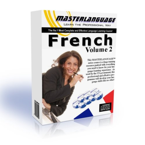 Learn FRENCH FAST with MASTER LANGUAGE Vol.2 (20 CDs & 2 Books based course)