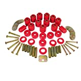 """Prothane 1-114 Red 1"""" Lift Body Mount for TJ"""