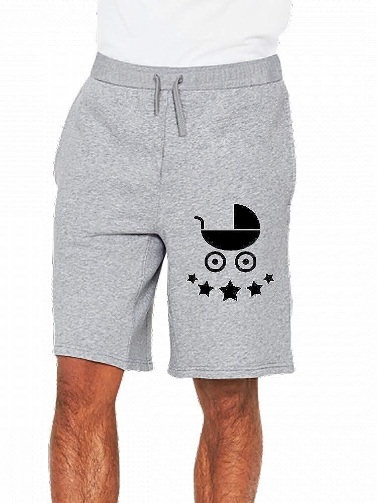 JiJingHeWang Baby Kinderwagen Stars Mens Casual Short Trouser