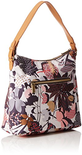 Oilily Botanic Pop M Shoulder Bag Charcoal