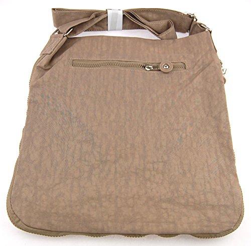 NB24spedizione Bag Street, Borsa a mano (2221), Stone, Borsa da donna, borsa a spalla, borsa a tracolla, borsa da sera, ca. 32x 2,5x 31cm, con chiusura lampo