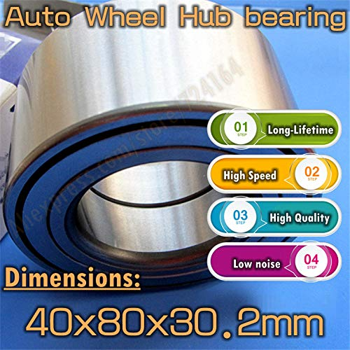 Ochoos Long-Lifetime High Speed Car Bearing Auto Wheel Hub Bearing DAC40800302 408030.2 40x80x30.2 mm