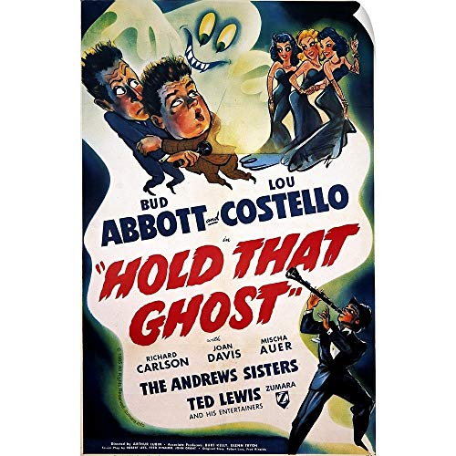 CANVAS ON DEMAND Abbott and Costello Hold That Ghost Wall Peel Art Print, 24