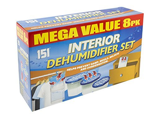 Dehumidifier Bags Small Space Hanging Interior Stop Damp Mould Mildew by Bargains Hut