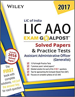 Lic Aao Previous Year Questions Pdf