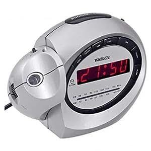 Proyector - radio despertador UR 4609 P radio despertador Watson UR 4609 P radio reloj de música