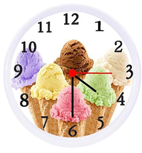 ice cream cone wall clocks - 2