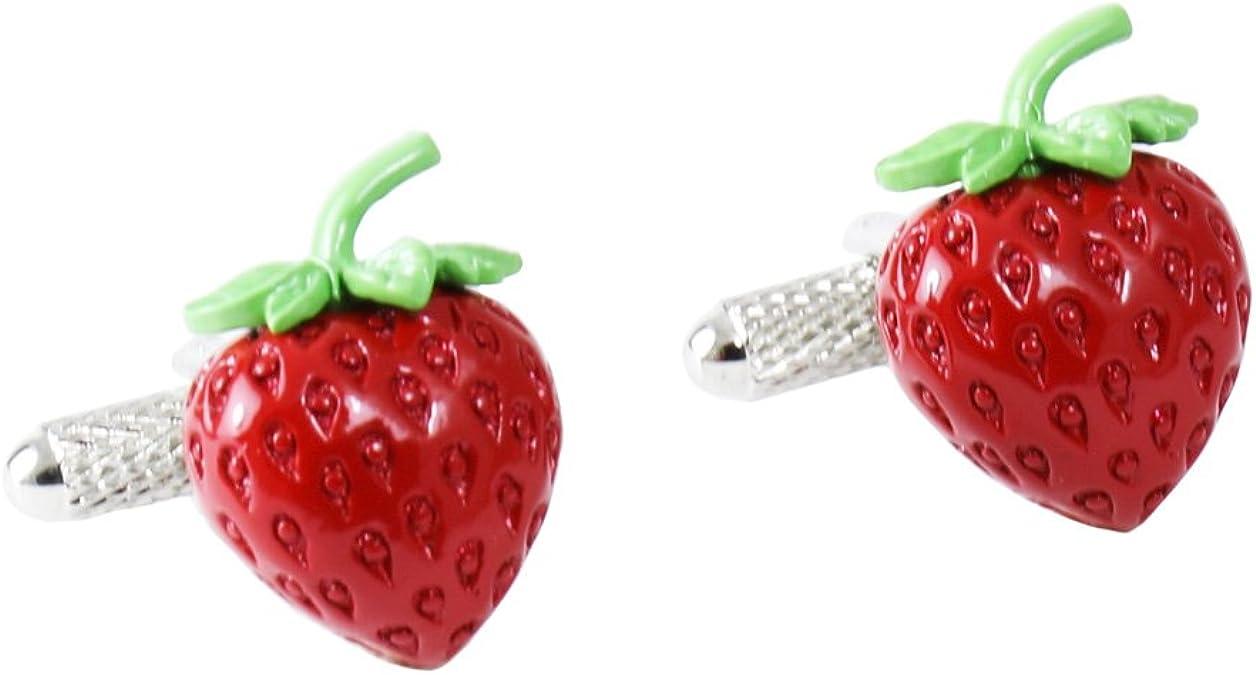 Strawberry Gifts Good Luck Strawberry Accessories Strawberries Wedding Cufflinks Gifts Strawberry Cufflinks Birthday Gift Cuff Links