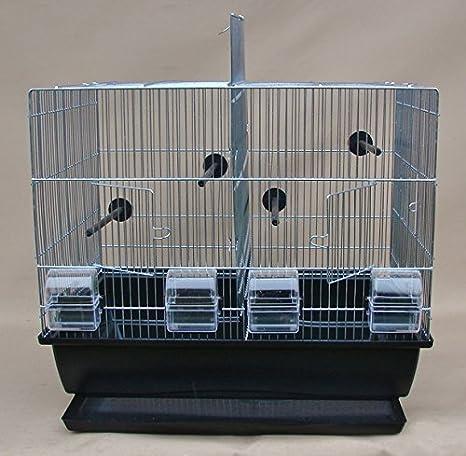 Jaula para pájaros, jaula para periquitos comunes, para pájaros ...