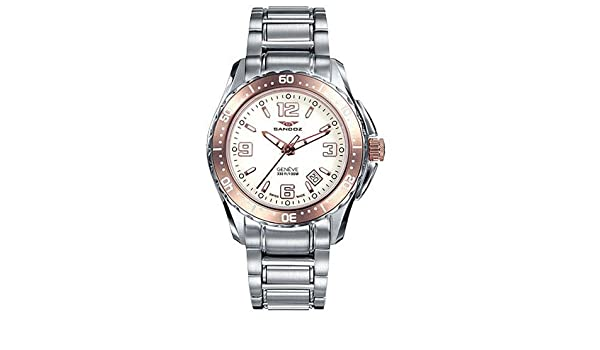 Reloj Sandoz The Race 81290 90 Mujer Blanco