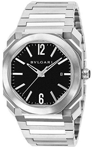 BVLGARI watch oct black dial automatic 100M waterproof BGO41BSSD