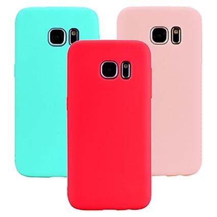 Funda Samsung Galaxy S6 Edge, 3Unidades Carcasa Galaxy S6 ...