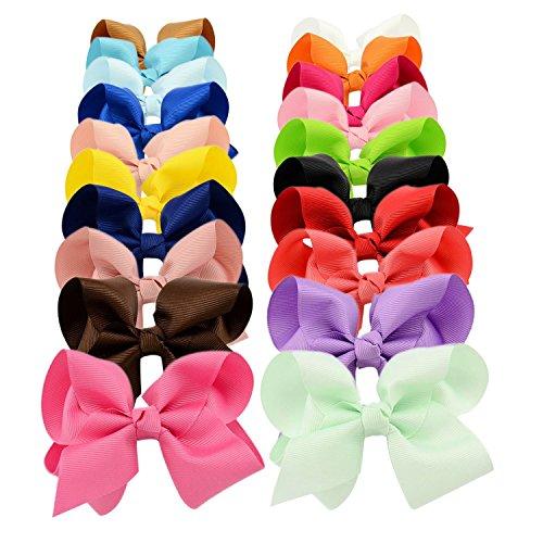 4in Bow - YOY Fashion Headbands Grosgrain Ribbon 4