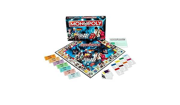 Rolling Stones Monopoly Board Game: Amazon.es: Libros en idiomas extranjeros