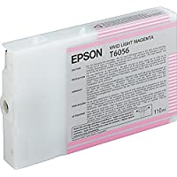 Epson T605600 UltraChrome K3 110ml Vivid Light Magenta Cartridge (T605600)