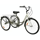 Best Adult Tricycles - Royal London Adult Tricycle 3 Wheeled Trike Bicycle Review