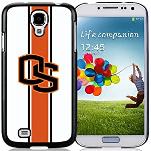 New NCAA Pacific-12 Conference Pac-12 Football Oregon State Beavers 05 Logo Cell Phone Hardshell Cover Case for Galaxy S4 SIV S IV I9500 I9505 Black