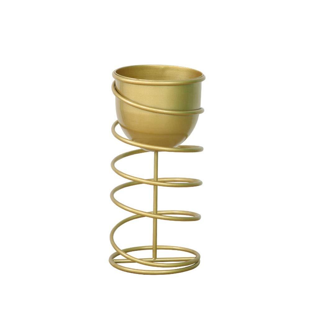 Creativo in Ferro battuto Fioriera Stand Soggiorno Balcone Flower Pot Holder Semplice Ufficio Decorazione Flower Shelf (colore   C, Dimensioni   30  60cm)