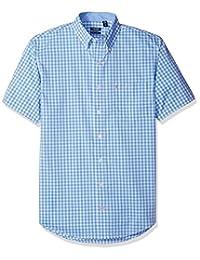 Izod mens big-tall Big and Tall Advantage Performance Short Sleeve Check Shirt