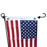 YYST 2 sets Universal Garden Flag Pole Stand Stopper (NO FLAG AND FLAG POLE)