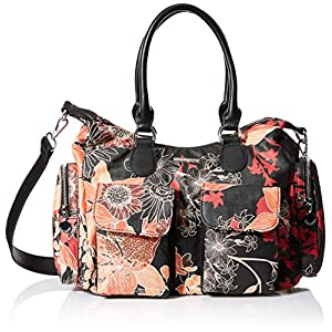 Desigual London Shoulder Bag Arty Gaia London Shoulder Bag Negro