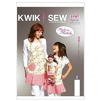 Kwik Sew Mutter/Tochter Schnittmuster – Schürzen (O/S): Amazon.de ...