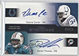 Delone Carter; Stevan Ridley; Bilal Powell #2/10 (Football Card) 2011 Topps Precision - Quad Autographs #PCQA-CTRP