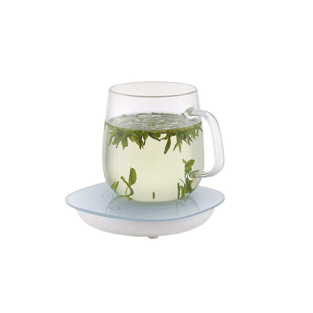 Laideyilan Mug and Cup Beverage Warmer for Desktop Portable Powered Comfortable Mug Heater Plate Heating Warmer for Milk Tea Coffee