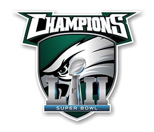 Philadelphia Eagles Champions SB52 Die Cut Decal (3