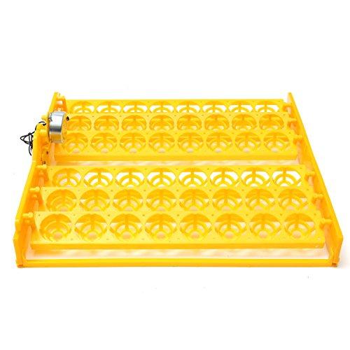 QOJA 48 position incubator turner tray with pcb turning motor 110v by QOJA