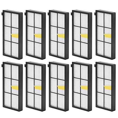 10pcs HEPA Filter for iRobot Roomba 800 870