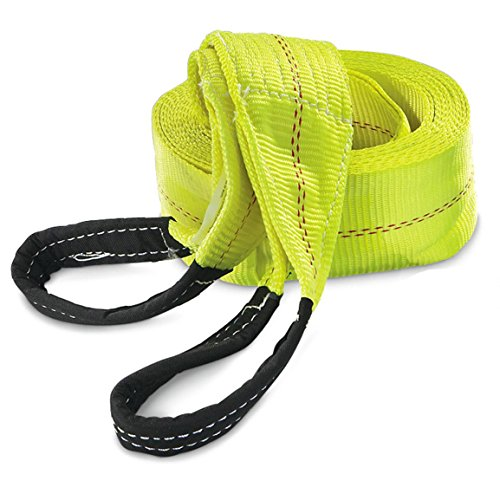 "UPC 819300011612, HFS 1PC , 30ft X 3"" Recovery Strap Polyester Tow Strap Rope 7,500 LBS Working , 15,000 Breaking Capicity"