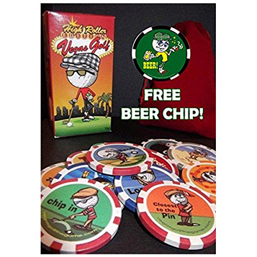 Edition Chips (Vegas Golf High Roller Edition-NOW with 15-chips! Now Includes a FREE Beer Chip)