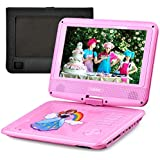 "UEME 9"" Portable DVD Player with Car Headrest Mount Holder 