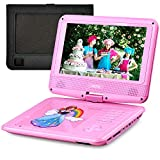 "UEME 9"" Portable DVD Player Swivel Screen 