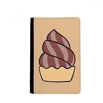 beatChong Harina De Avena Dulce De Chocolate Helado Bolso De Viaje con Pasaporte Tarjeta De La Caja Cubierta De La Carpeta: Amazon.es: Equipaje