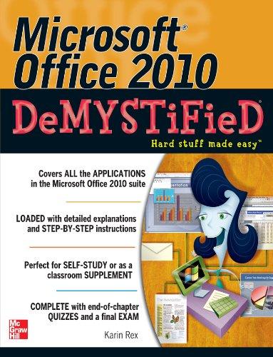 Microsoft Office 2010 Demystified Pdf