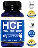 HCF Brain Supplement with Amino-Acids & Vitamins for Memory, Focus, Attention, Mood, Energy. Improve Sleep Quality, Concentration & Learning Abilities. FQ is Different. (90 Count)