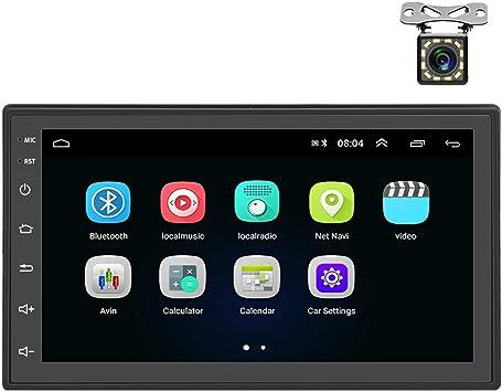 Android Autoradio 2 Din Gps Camecho Bluetooth Wifi Elektronik