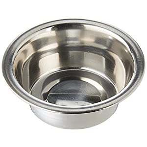 Loving Pets DLV7200 Standard Stainless Steel Pet Bowl, 1/2-Pint 48